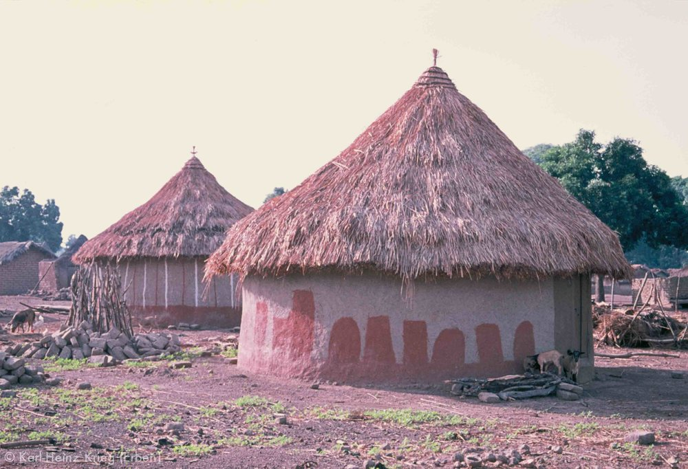 Mirimiri (Region von Boundiali, Côte d'Ivoire). Foto: Karl-Heinz Krieg, 1976