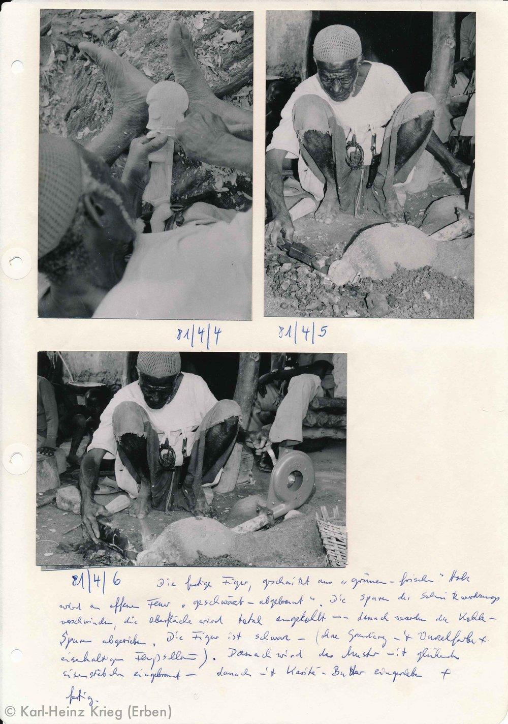 Archive by Karl-Heinz Krieg, Tinnin Fané