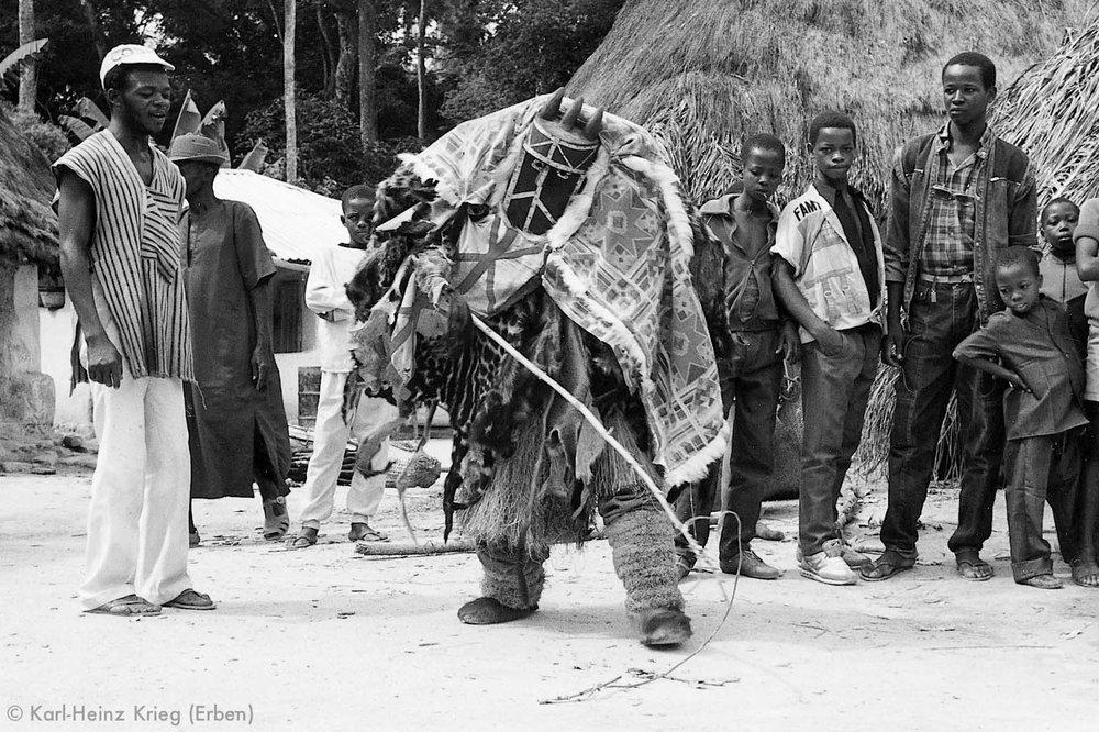 Podaimalerei in Guinea