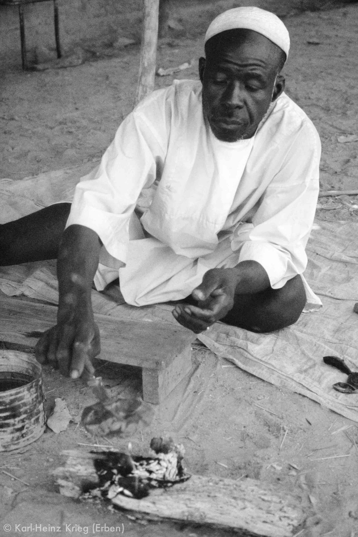 Songuimai Koné - Fono Blacksmith and Bronze Caster,1933 – July 24, 1996Gbon, Côte d'Ivoire