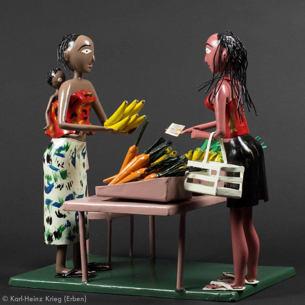 Skulptur von Didier Ahadji 600 €