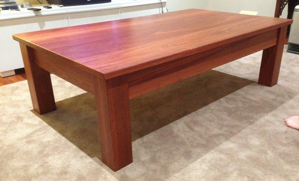 L 2 Jarrah cofffee table single drawer 1500x800x450 2.JPG