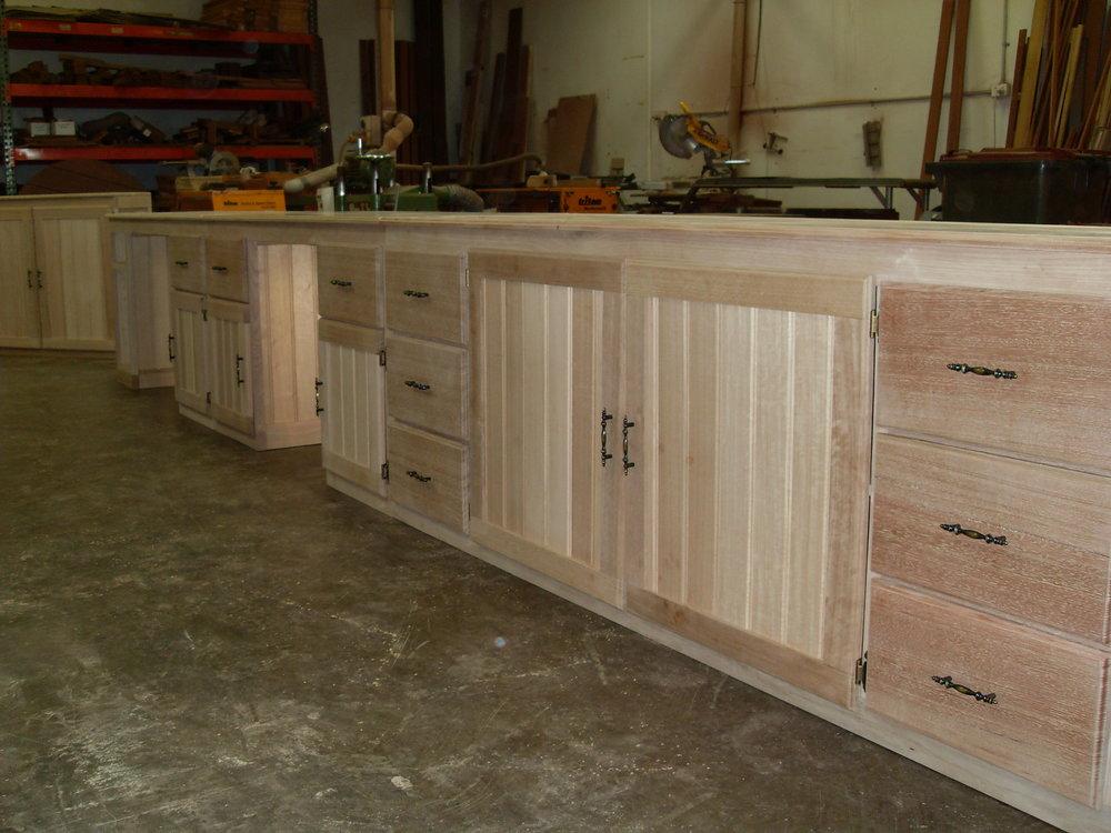 Tasmanian Oak office set, desks and storage