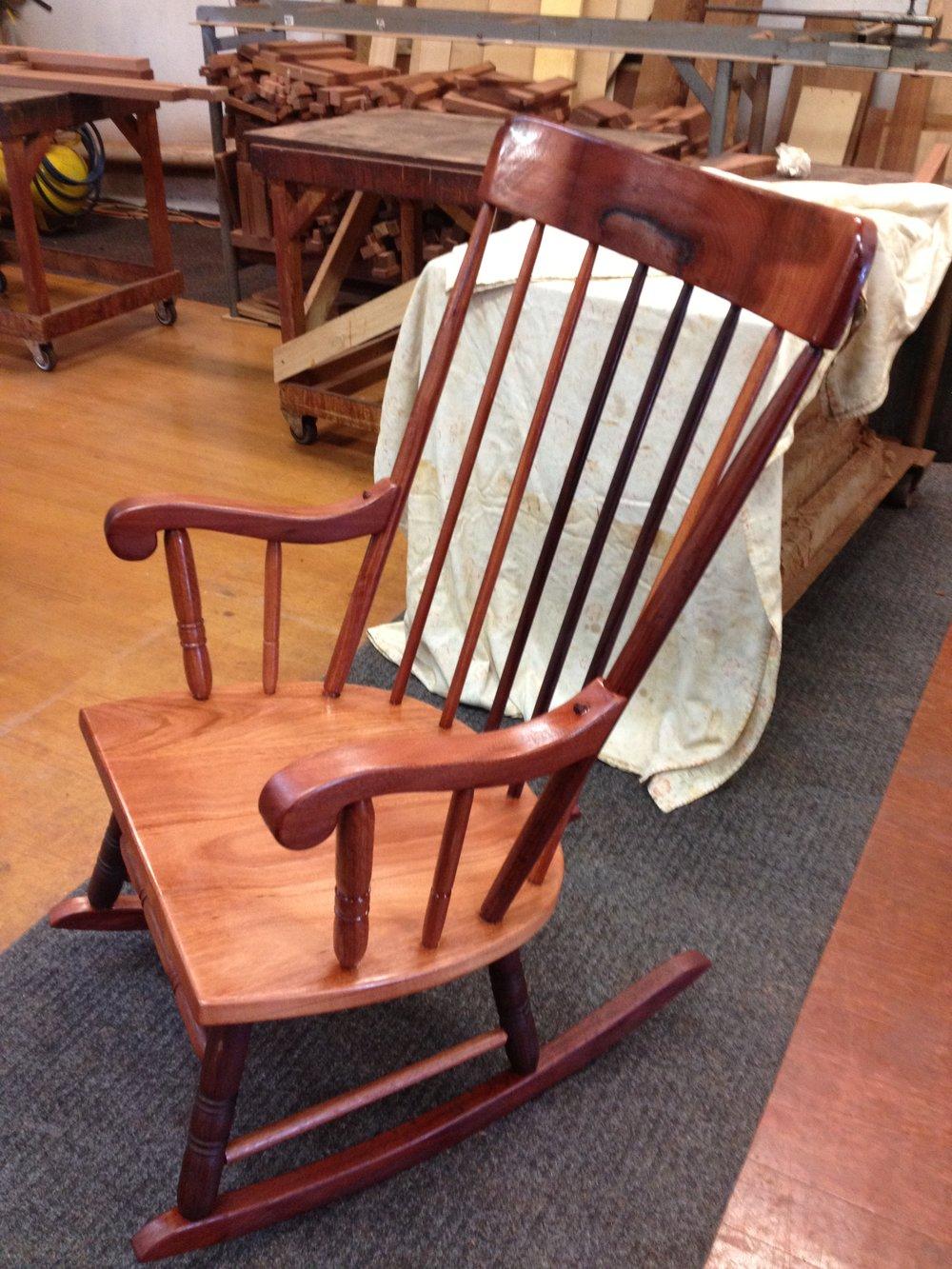 Jarrah  rocking chair
