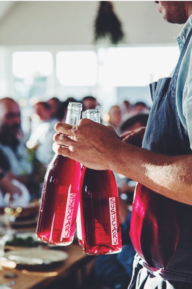 Naturlig vin -