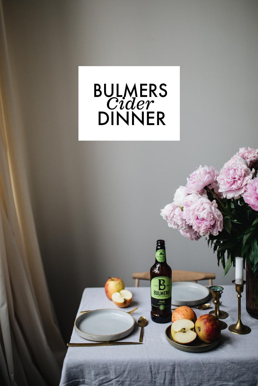 Bulmer Cider Dinner