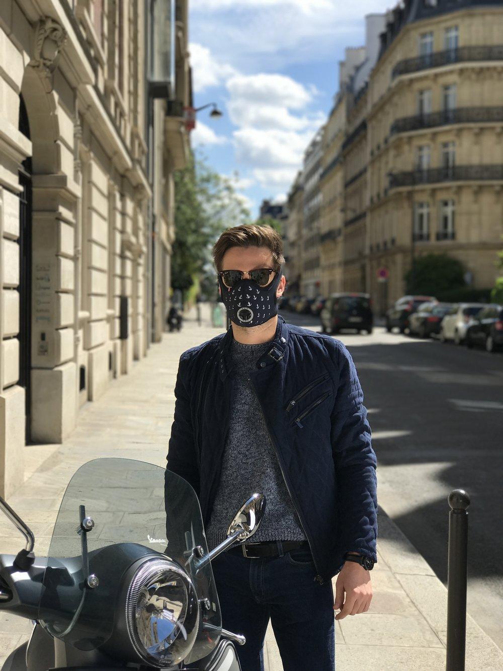 Masque R-PUR Nano - Modèle : Ancres