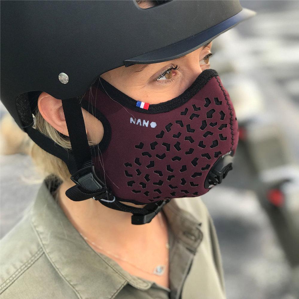 Masque R-PUR Nano - Modèle : Bordeaux