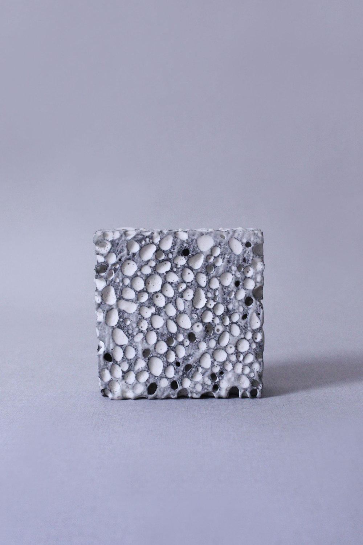 Foamy Surface -Sponge and Plaster