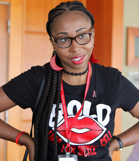 Founder of  Bold Lips for Sickle Cell