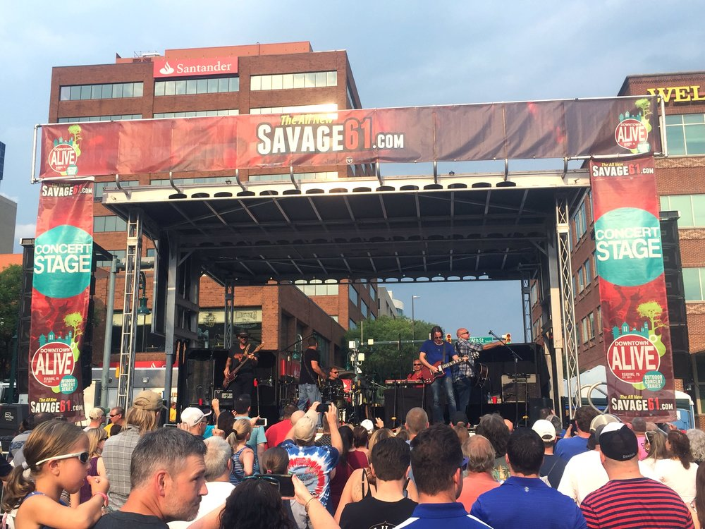 Reading Downtown Alive 2017
