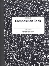 (1) Composition Notebook -