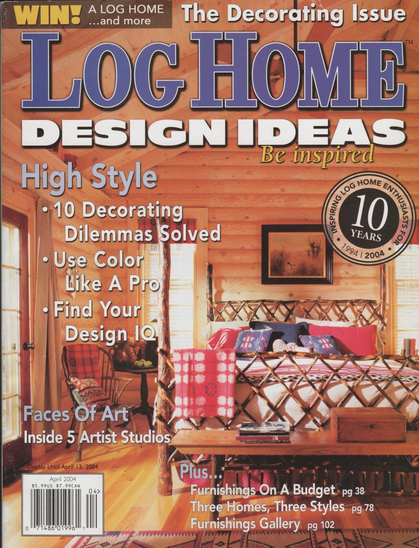 Log Home Design Ideas