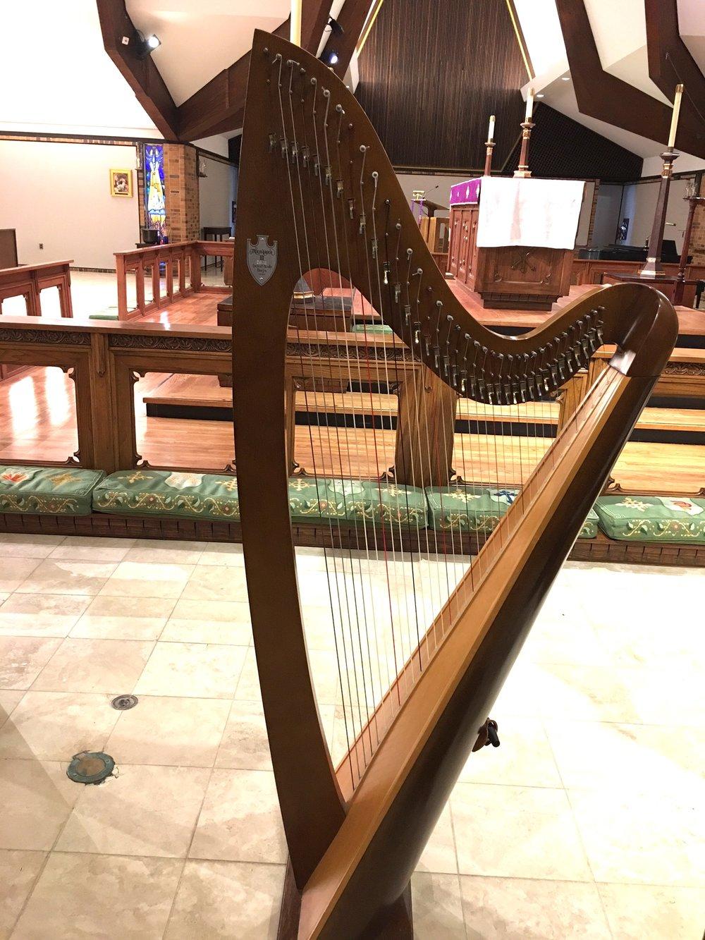 Harp at St. Mark's