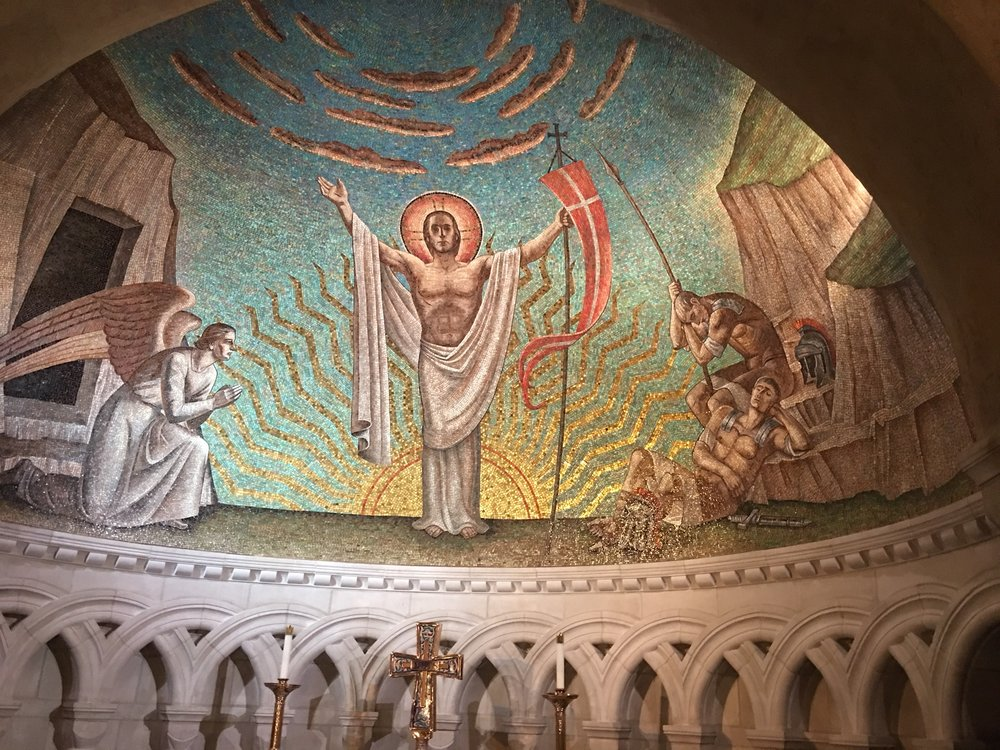 Resurrection Chapel at Washington National Cathedral
