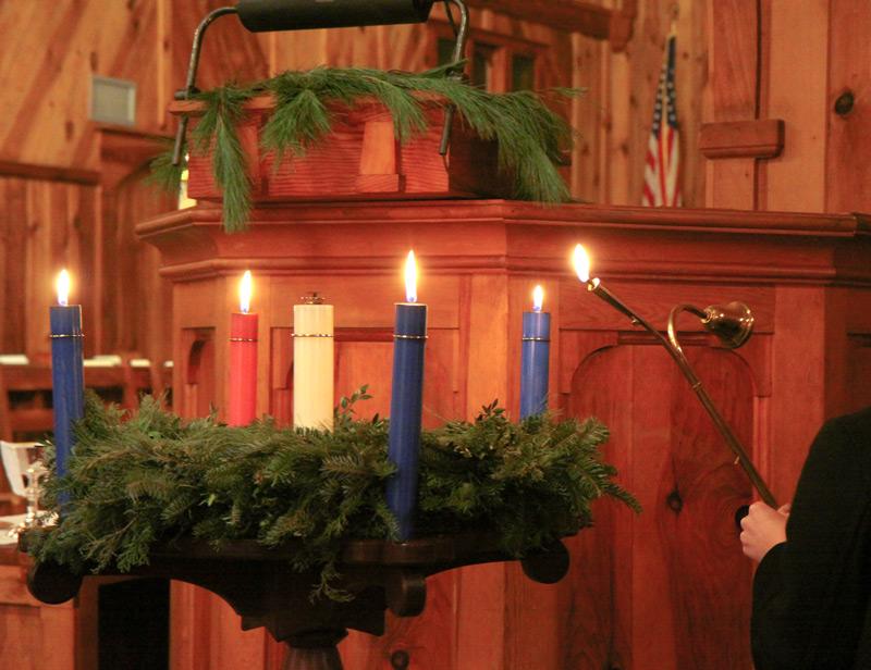 Christmas and Advent 4 at Kanuga