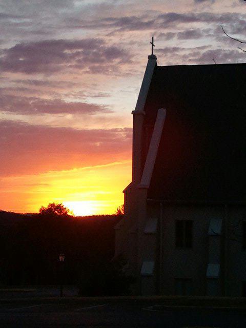 Camp Mitchell Sunset