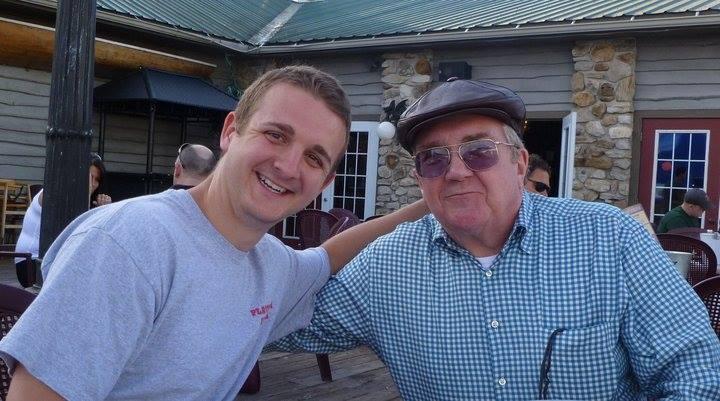Jim and his grandson