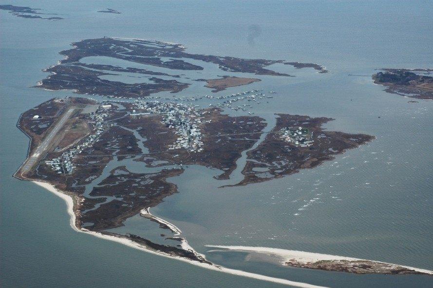NeilKaye Aerial of Tangier Island