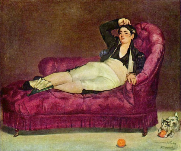 Manet Fainting Couch