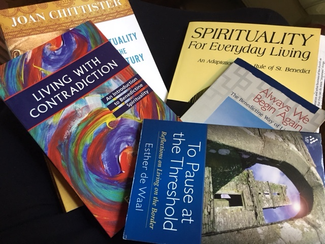 benedictine books.JPG