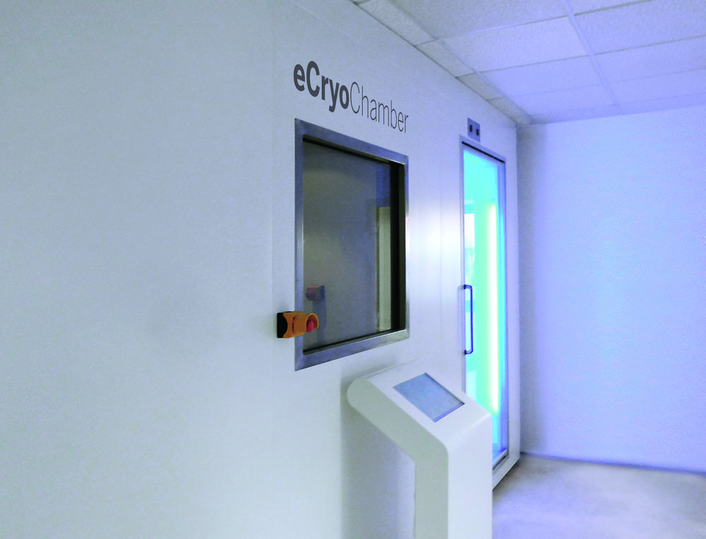eCryotherapy of North America distributes electric cryotherapy chambers