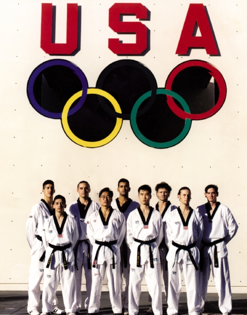 Bret Moldenhauer on the Olympic All Army Taekwando Team