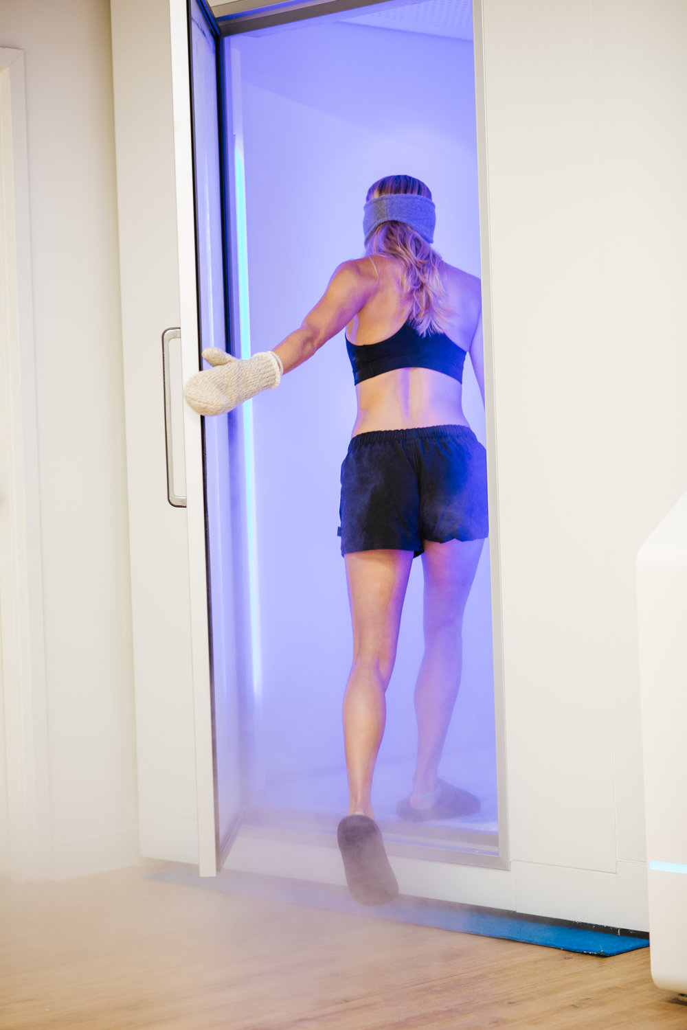 Cryotherapy chamber at norspring chattanooga