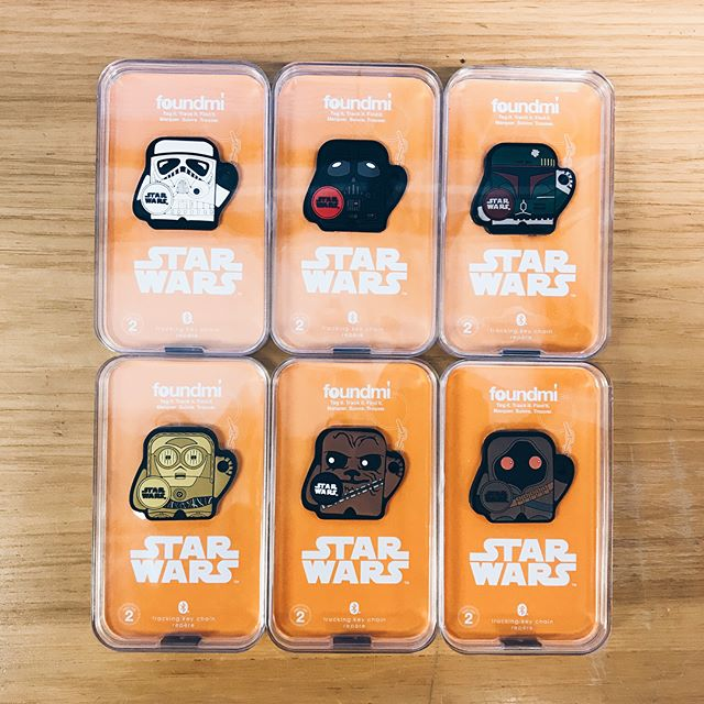 the @myfoundmi tile trackers are here! purchase online or at your local con ⭐️ we're having a special! standard pricing for one is $25 but you can get TWO for only $40!! use code FOUNDMI on our website to apply the deal to your cart 🎉