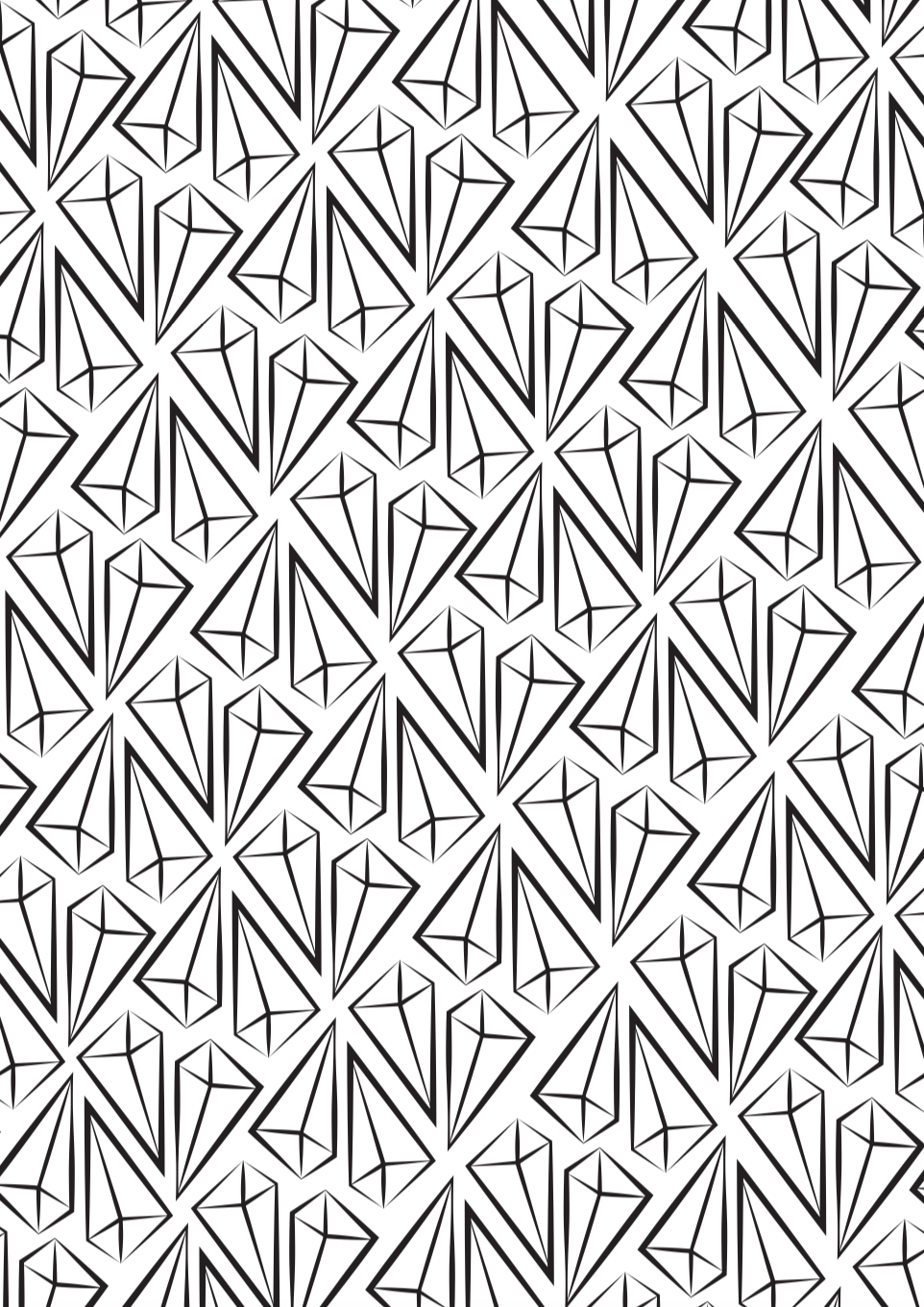 Shards Pattern Design