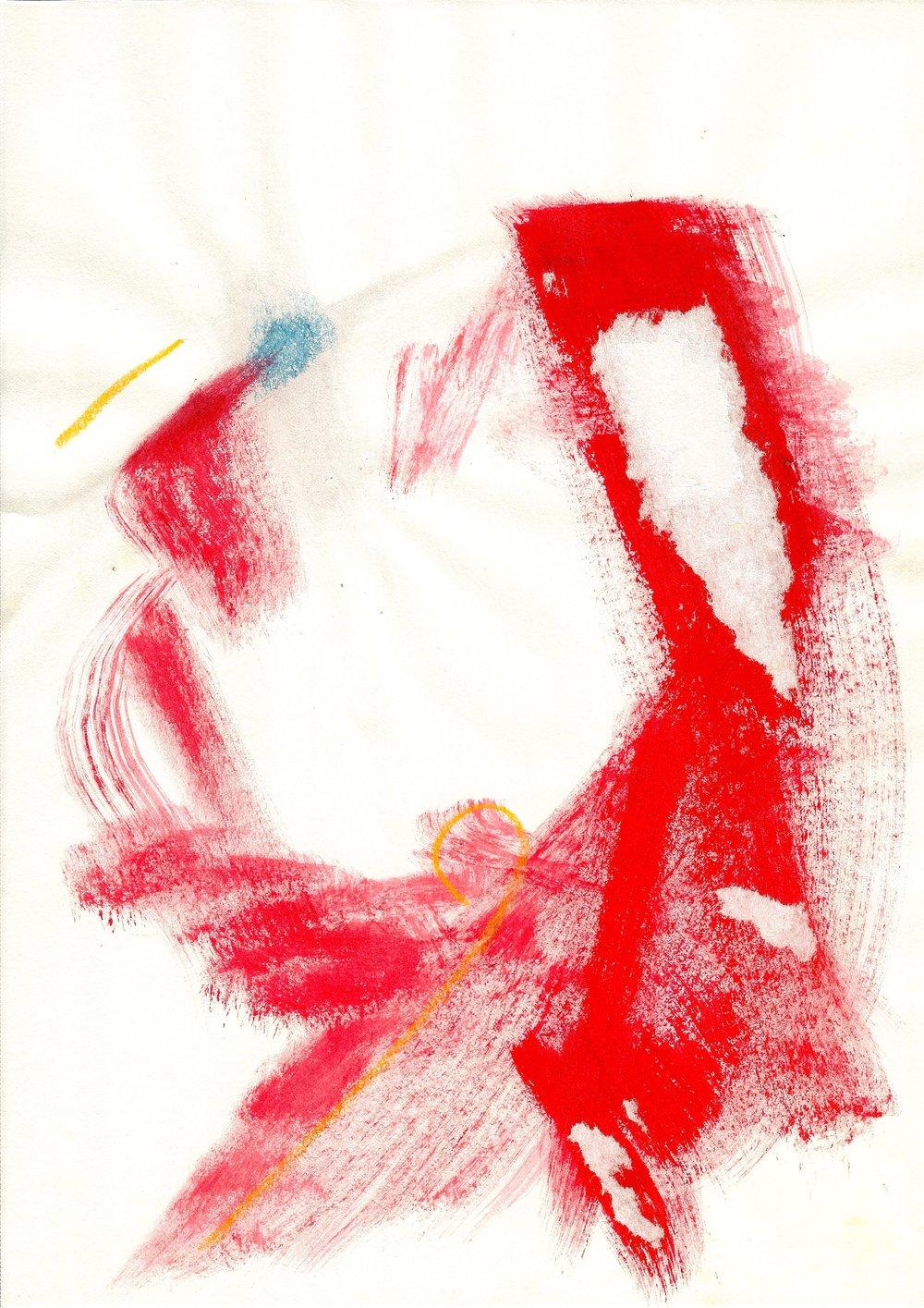 Frustration. mixed media. by Jennifer Crinion