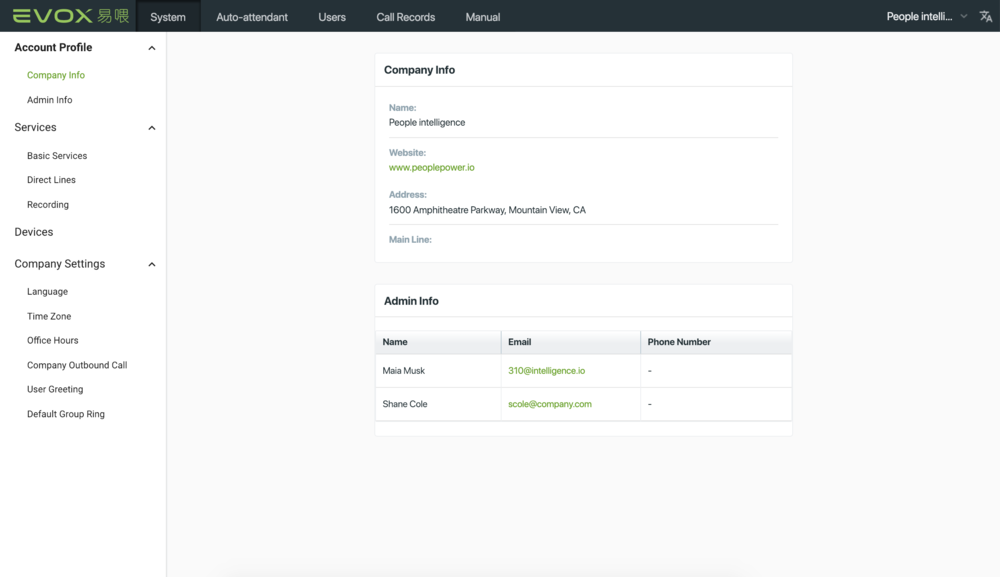 Evox Admin center 2.0 is here ! - More functions and easier to use