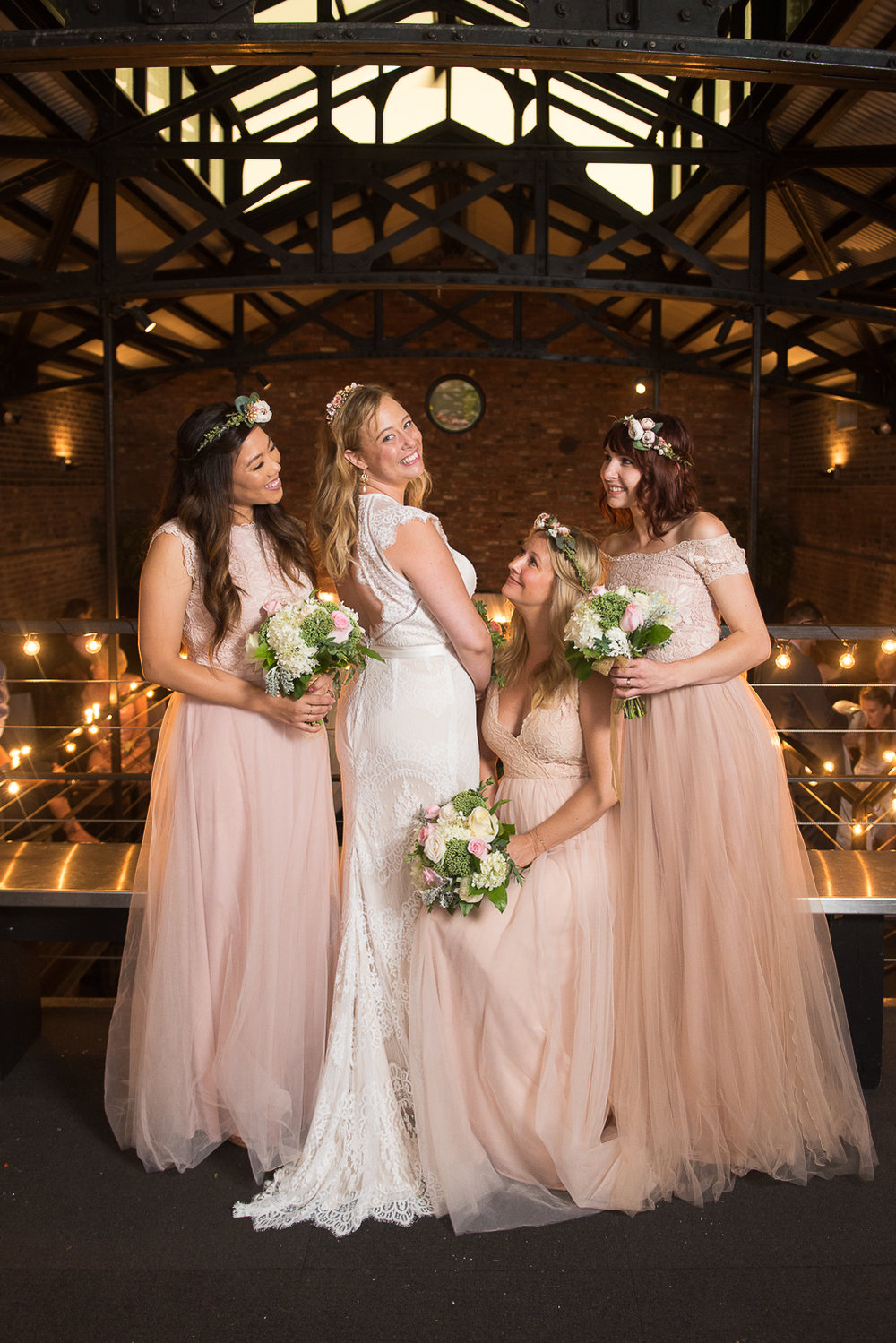 Foundry long island city wedding bridesmaid