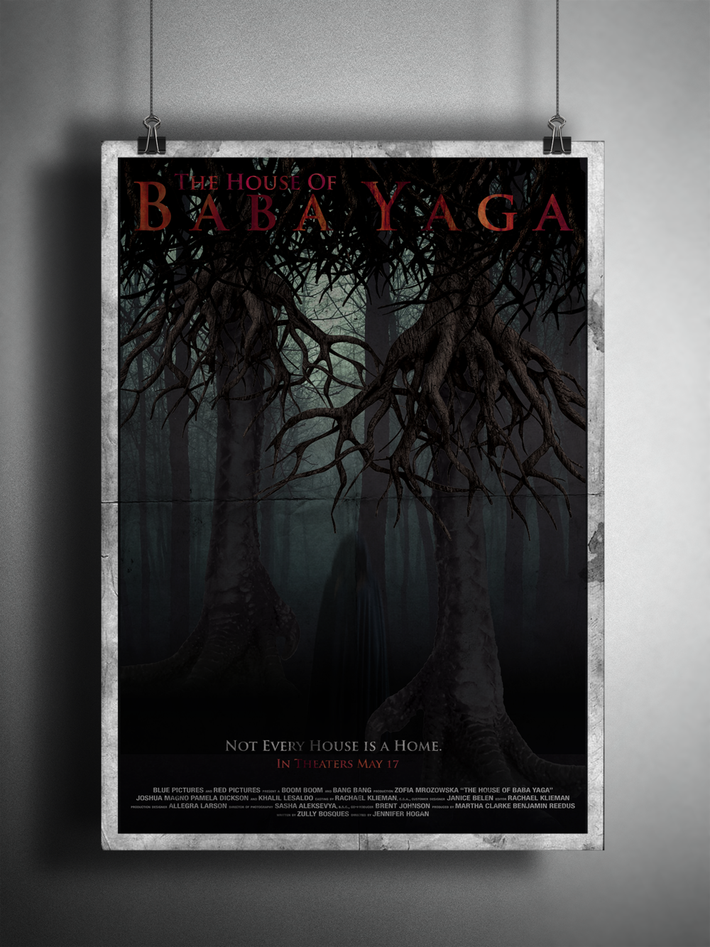 """The House of Baba Yaga"" promotional poster."