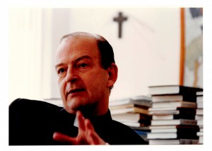 Father Richard John Neuhaus. Photo courtesy of First Things, http://www.firstthings.com/richard-john-neuhaus-society. Read more: http://www.patheos.com/blogs/michaelnovak/2015/03/the-ballad-of-richard-john-a-reworking-and-shameless-borrowing-of-chestertons-lepanto/#ixzz3TcZNrwoG