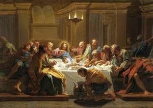 """""""Jouvenet Last Supper"""" by Jean-Baptiste Jouvenet – cyfrowe.mnw.art.pl. Licensed under Public Domain via Wikimedia Commons"""