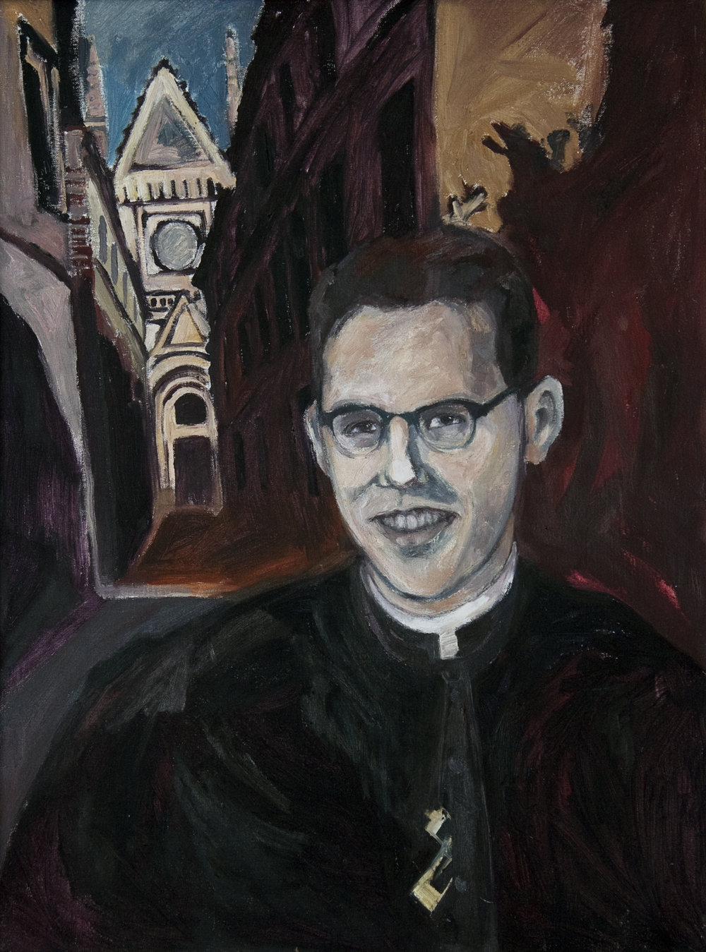 Father Richard Novak by Karen Laub Novak