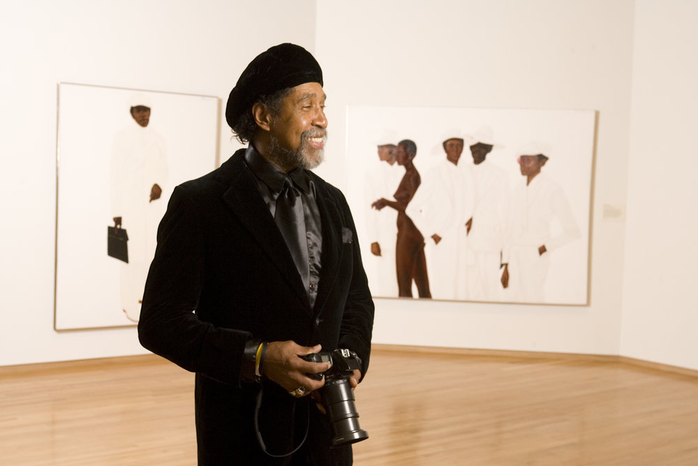barkley L. Hendricks; Photo: Duke University Photography