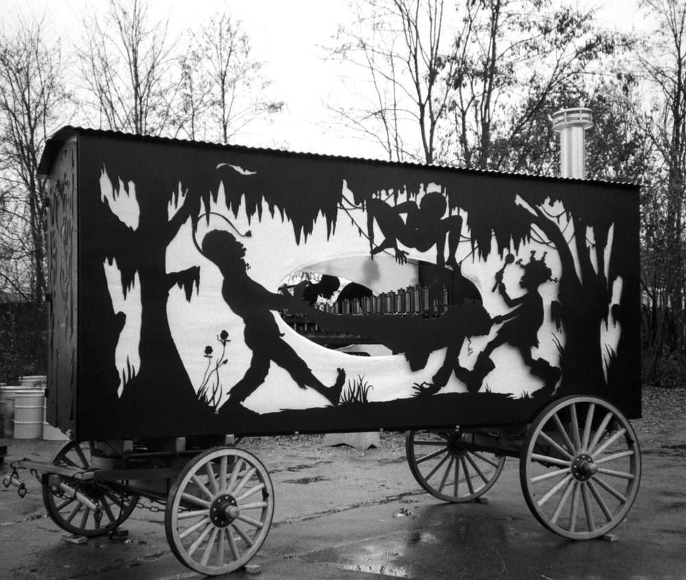 Kara Walker,  The Katastwóf Karavan, photo courtesy Ari Marcopoulos