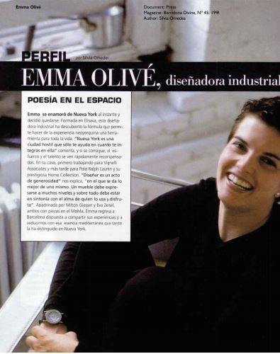 Revista Barcelona Divina - Entrevista