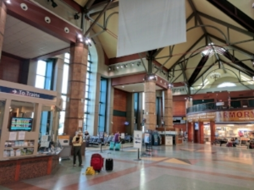 Albany-Rensselaer (ALB) Amtrak station