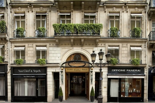 Park Hyatt Paris Vendome. Image courtesy of Bedo UK.