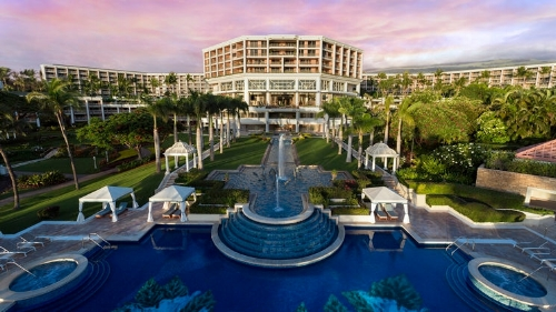 Grand Wailea Waldorf Astoria Beach Resort. Image courtesy of Hilton.