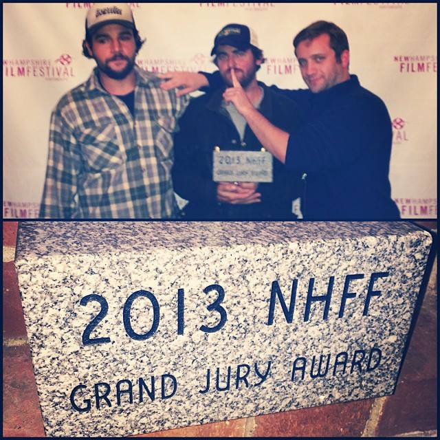 "Christopher Abbott (Actor), Carlos Puga (Director), McCabe Walsh (producer).  New Hampshire is ""The GraniteState""; accordingly, the prize is a block of granite."