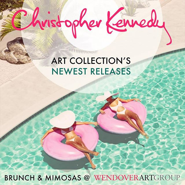 Join me for brunch today in High Point as I debut my latest pieces for Wendover Art Group! 11:30 to 1:30, IHFC C215.