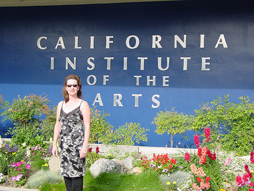 Graduation Day at California Institute of the Arts. The best 3 years of my creative/academic life!