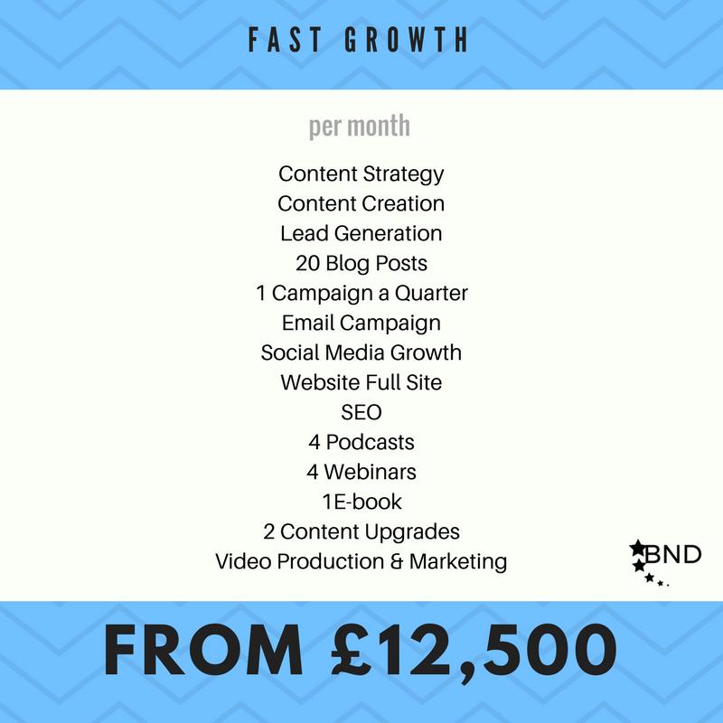 Fast Growth Pkg