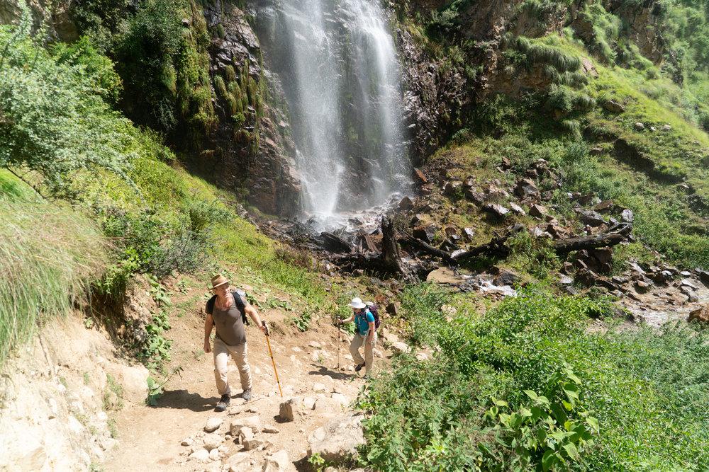 Beautiful scenery and steep climbs.