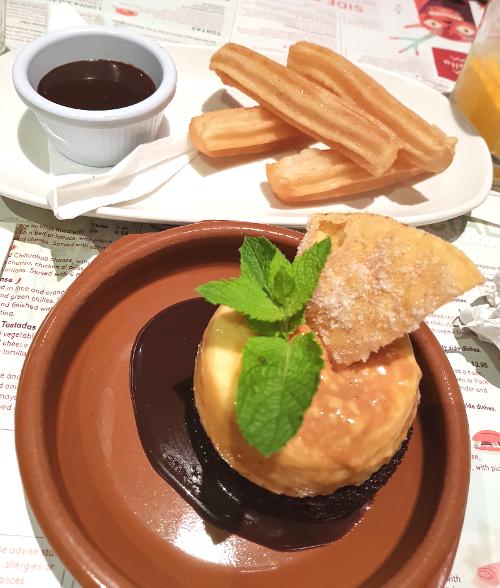 Desserts at Lupita