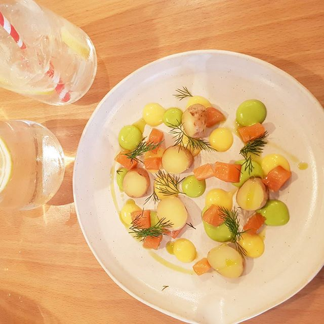 New blog post up about @farmyardrestaurant Norwich. This was my cured salmon with yuzu starter.  #bloggers #fdbloggers #foodbloggers #instafood #instafoodie